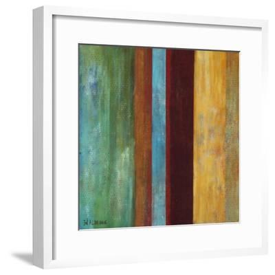 Blue Comes Thru I-Willie Green-Aldridge-Framed Art Print