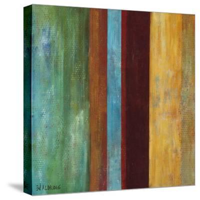 Blue Comes Thru I-Willie Green-Aldridge-Stretched Canvas Print