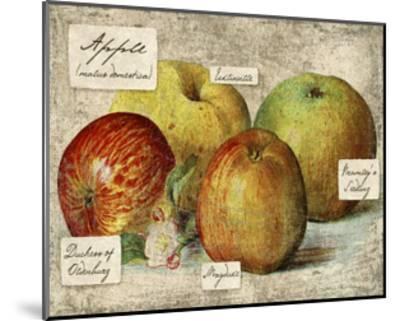 Fresco Fruit VIII-Kate Ward Thacker-Mounted Art Print