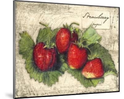 Fresco Fruit XII-Kate Ward Thacker-Mounted Art Print