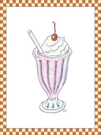 Ice Cream Parlor II-Virginia A^ Roper-Framed Art Print