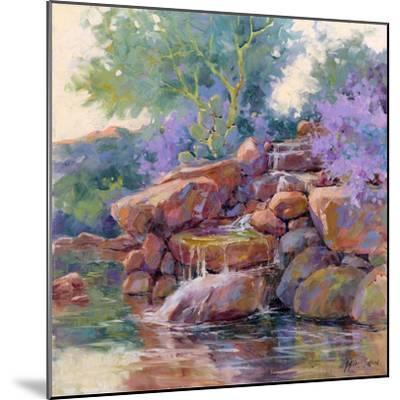 Desert Stream-Julie G^ Pollard-Mounted Art Print
