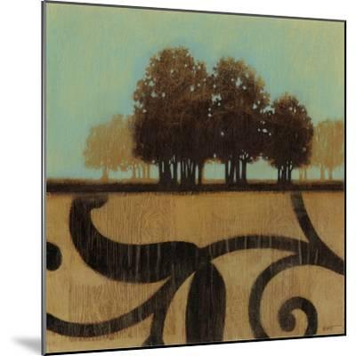 Mediterranean Twilight I-Norman Wyatt, Jr^-Mounted Art Print