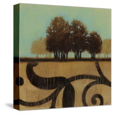 Mediterranean Twilight I-Norman Wyatt, Jr^-Stretched Canvas Print