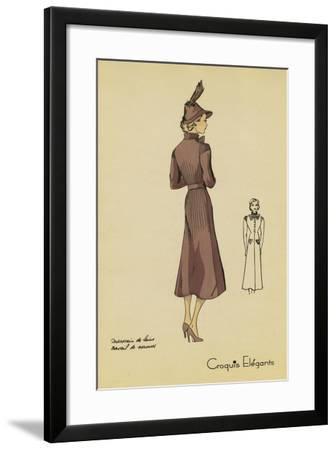 Ladies Fashion I--Framed Art Print