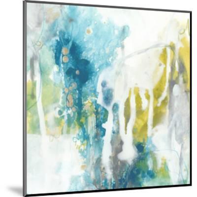 Aquatic Atmosphere I-June Vess-Mounted Premium Giclee Print