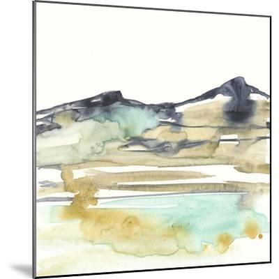 Mountains to Sea VI-Jennifer Goldberger-Mounted Premium Giclee Print