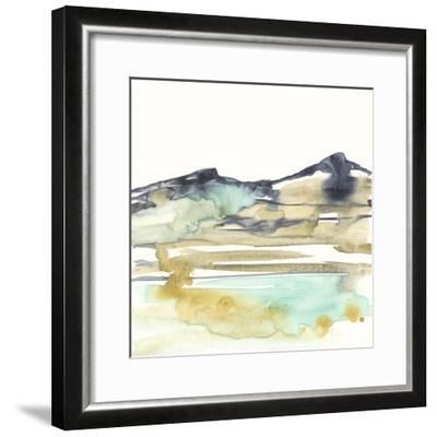 Mountains to Sea VI-Jennifer Goldberger-Framed Premium Giclee Print