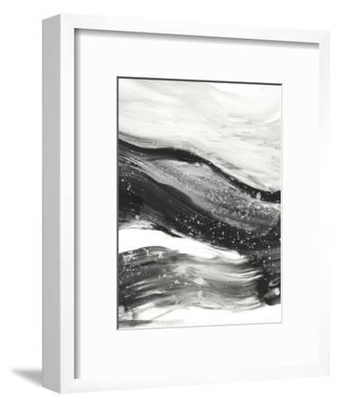 Black Waves I-Ethan Harper-Framed Premium Giclee Print