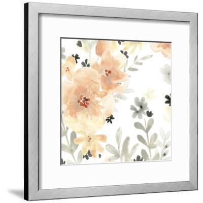 Blush Garden I-June Vess-Framed Premium Giclee Print