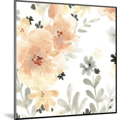 Blush Garden I-June Vess-Mounted Premium Giclee Print