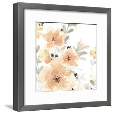 Blush Garden III-June Vess-Framed Premium Giclee Print