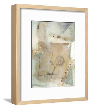 Posy Collage II-Jennifer Goldberger-Framed Premium Giclee Print