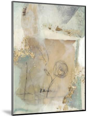 Posy Collage II-Jennifer Goldberger-Mounted Premium Giclee Print