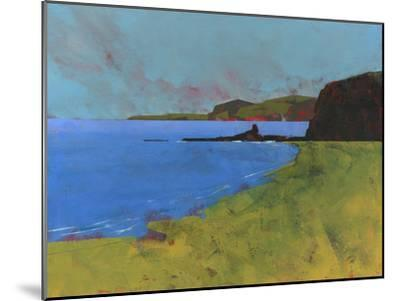 Ceredigion Cliffs-Paul Bailey-Mounted Premium Giclee Print