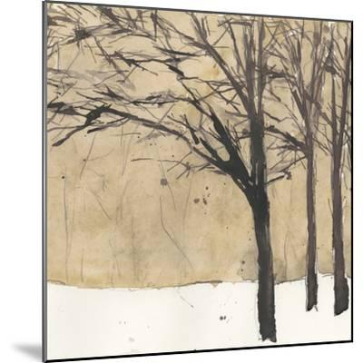 Forest Sketch II-Samuel Dixon-Mounted Premium Giclee Print