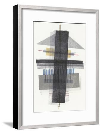 Compass Point I-Nikki Galapon-Framed Premium Giclee Print