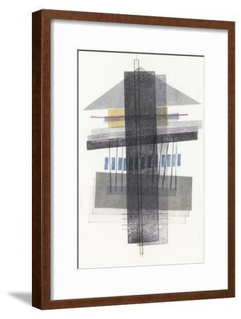 Compass Point III-Nikki Galapon-Framed Premium Giclee Print