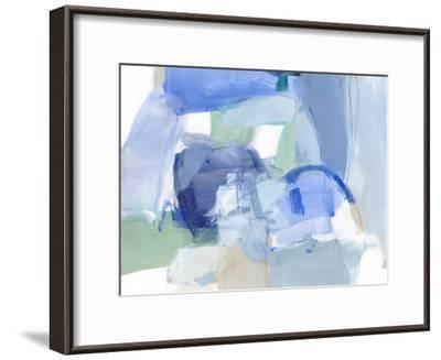 Blue Formation II-Christina Long-Framed Premium Giclee Print
