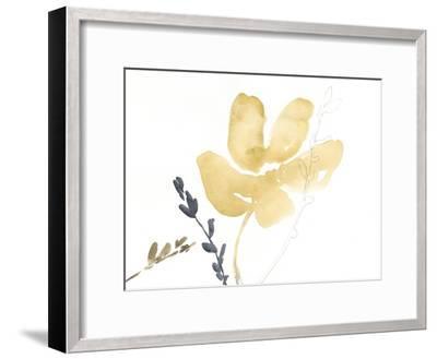 Branch Contours III-Jennifer Goldberger-Framed Premium Giclee Print