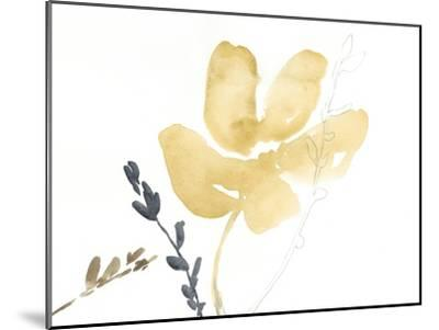 Branch Contours III-Jennifer Goldberger-Mounted Premium Giclee Print