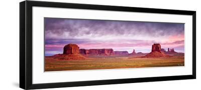 Pink Morning Glory V-David Drost-Framed Photographic Print