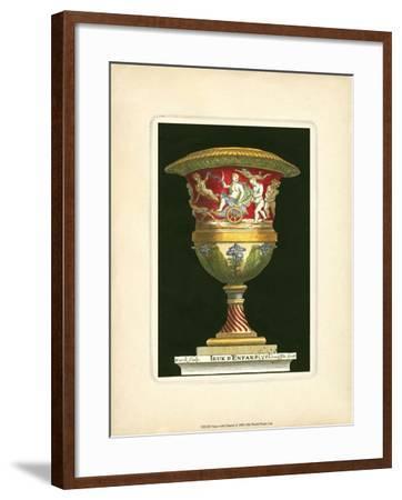 Vase with Chariot- THOMASSIN-Framed Art Print