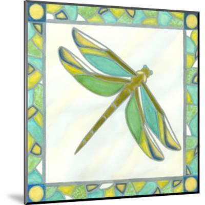 Luminous Dragonfly I-Vanna Lam-Mounted Art Print