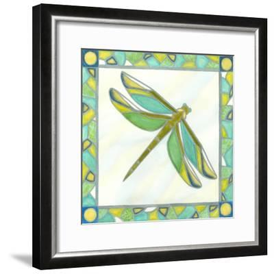 Luminous Dragonfly I-Vanna Lam-Framed Art Print