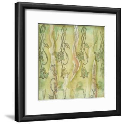 Floral Whimsey II-Jennifer Goldberger-Framed Art Print