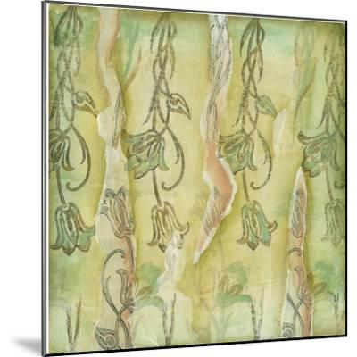 Floral Whimsey II-Jennifer Goldberger-Mounted Art Print