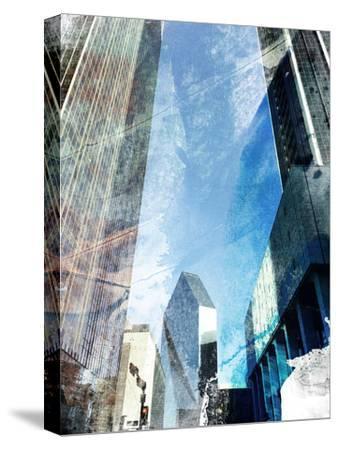 Dallas Architecture II-Sisa Jasper-Stretched Canvas Print