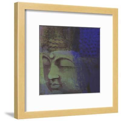 Zen Modern II-Ricki Mountain-Framed Art Print