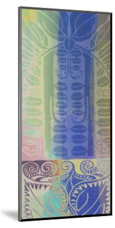 Pastel Filigree I-Ricki Mountain-Mounted Art Print