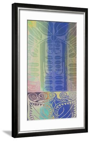 Pastel Filigree I-Ricki Mountain-Framed Art Print