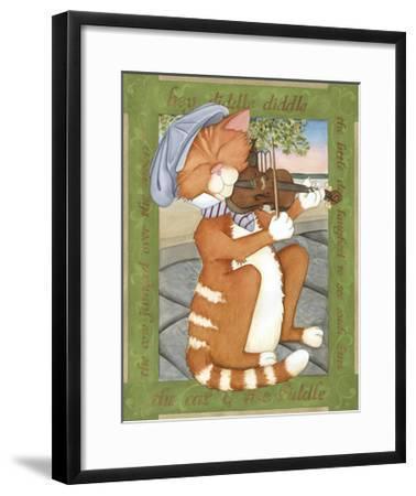 The Cat & The Fiddle-Tara Friel-Framed Art Print