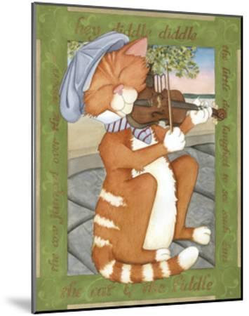 The Cat & The Fiddle-Tara Friel-Mounted Art Print