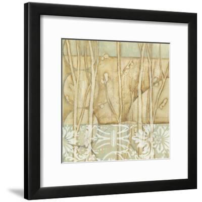 Small Willow and Lace IV-Jennifer Goldberger-Framed Art Print
