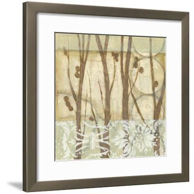 Small Willow and Lace III-Jennifer Goldberger-Framed Art Print