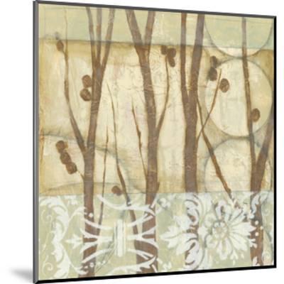Small Willow and Lace III-Jennifer Goldberger-Mounted Art Print