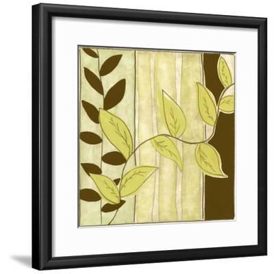 Patchwork Garden III-Jennifer Goldberger-Framed Art Print