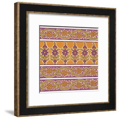 Ceylon Squares II-Vision Studio-Framed Art Print