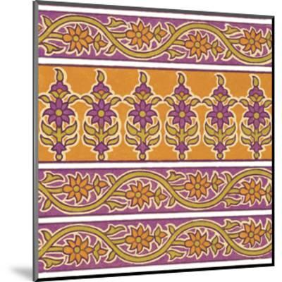 Ceylon Squares II-Vision Studio-Mounted Art Print