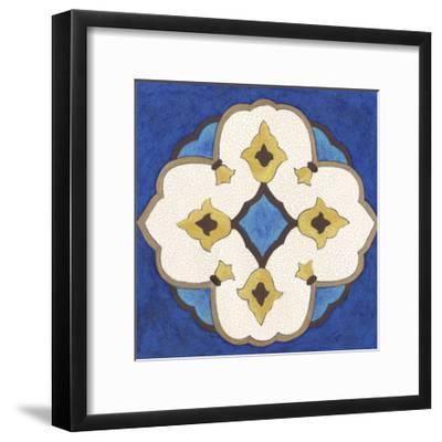 Royal Lapis III-Vanna Lam-Framed Art Print