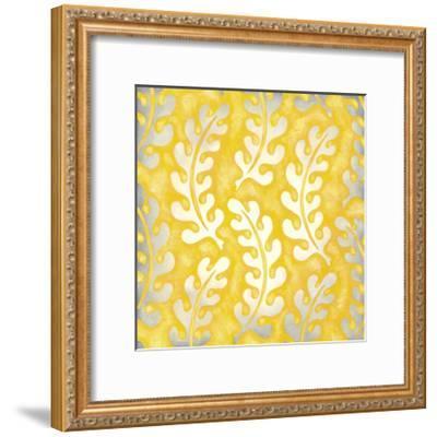 Classical Leaves I-Chariklia Zarris-Framed Premium Giclee Print