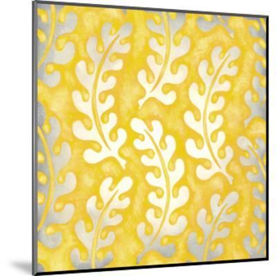 Classical Leaves I-Chariklia Zarris-Mounted Premium Giclee Print