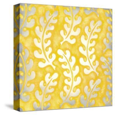 Classical Leaves I-Chariklia Zarris-Stretched Canvas Print