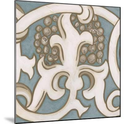 Ornamental Leaf III-Vision Studio-Mounted Art Print