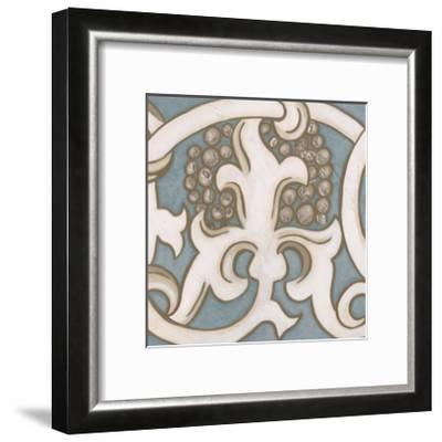 Ornamental Leaf III-Vision Studio-Framed Art Print