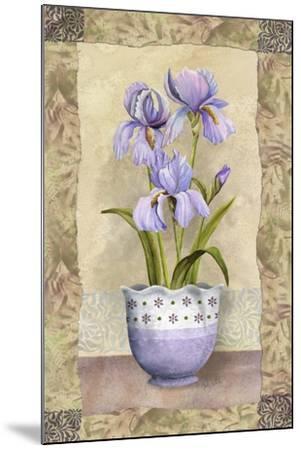 Spring Iris-Abby White-Mounted Art Print
